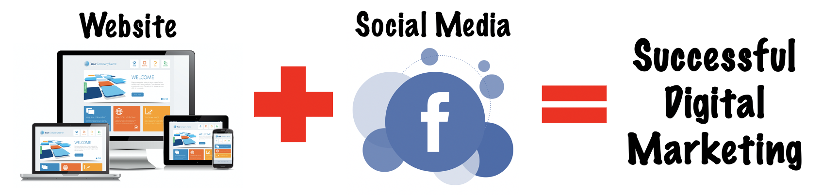Website + Facebook