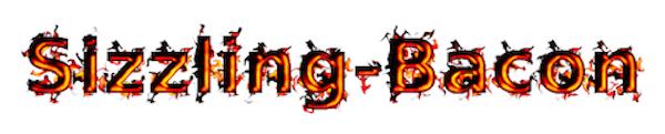 Sizzling Bacon Logo