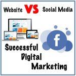 Website vs Facebook