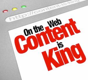 Website Content is King