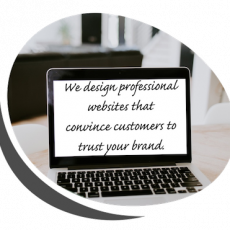Professional website for to promote brand