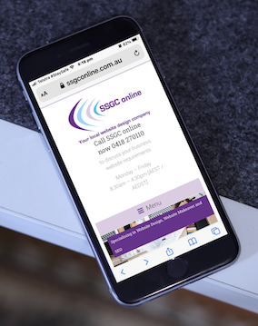Website optimized for mobile users
