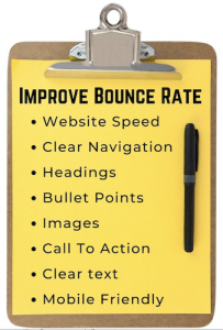 Improve Bounce Rate Clipboard