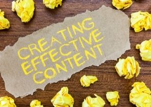 Creating effective content